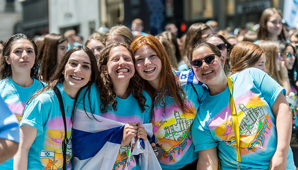 Teenagers from the Hebrew Academy of the Five Towns & Rockaway- HAFTR Elementary School