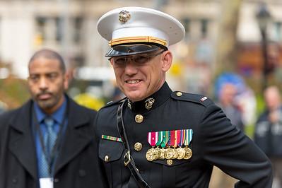 U.S. Marines Band head from Quantico