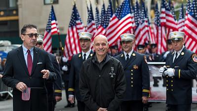 New York City Fire Commissioner Daniel Nigro