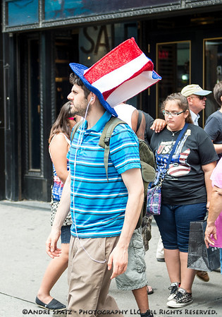 Dressed for Independence Day - The Hat.