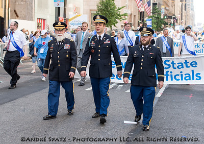 Decorated Military leading the  NY State elected officials