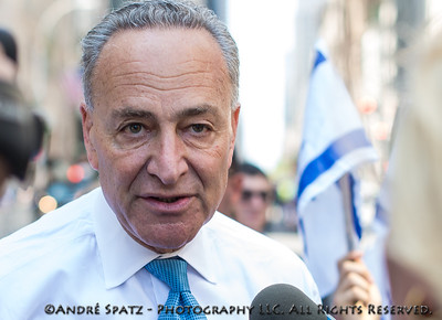 NY Senator Chuck Schumer at the Celebrate Israel Parade