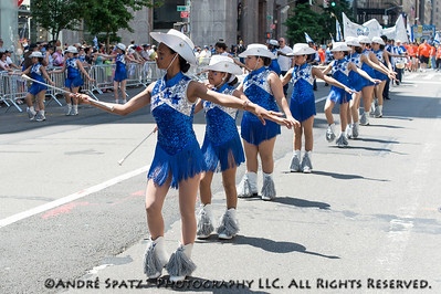 New York Stars - Twirling & Marching Band