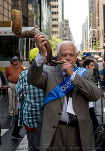 Sounds of the Shofar kick-off the 50th NYC Celebrate Israel Parade