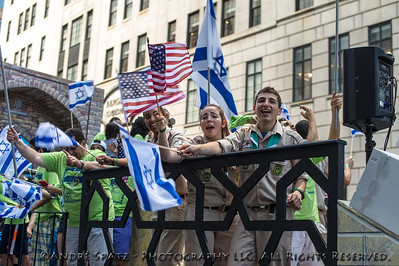 Float of the Iranian American Jewish Federation of New York