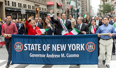 Honored Guest of the Parade: New York State Governor Andrew Cuomo.