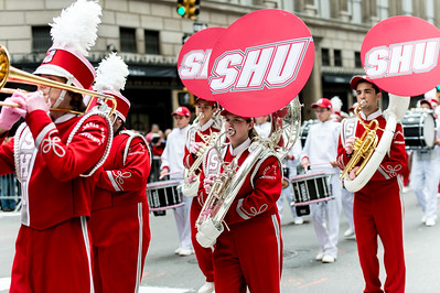 The Sacred Heart University Marching Band , Connecticut
