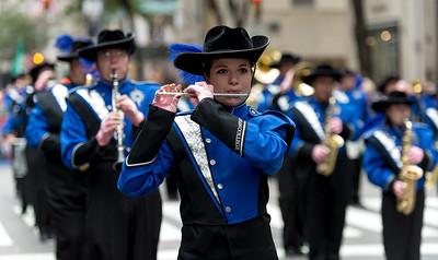 Moravian College - Greyhound Marching Band - Bethlehem, Pensilvania