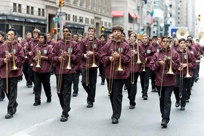 Glen Cove High School marching band - Glen Cove, L.I. New York.