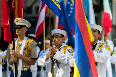 The New York military youth cadets