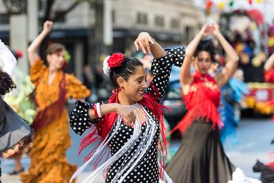 Dancers of the Centro Espanol - La Nacional