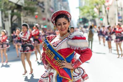 Miss Caporales de San Simon.