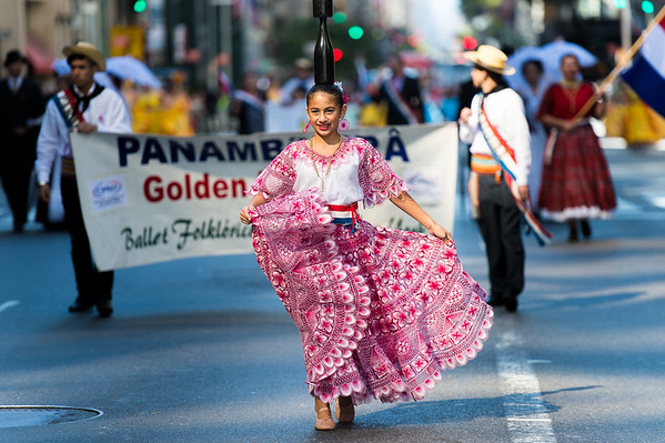 Dancer of the Panambivera - Ballet Folklorico Paraguayo of New York