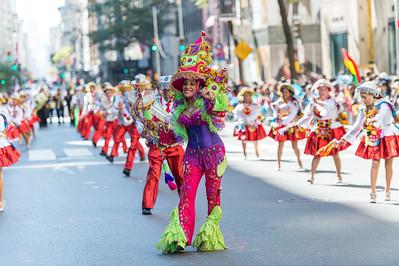 Dancers from the Fraternidad Sr. de Exaltation. Kullwada - Los Rebeldes, NY.d