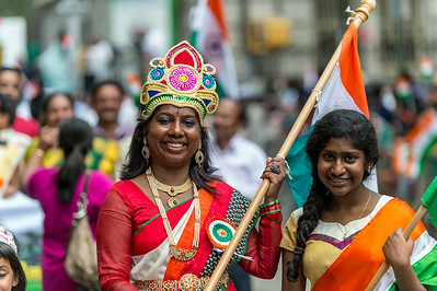 Celebrating the India Day Parade