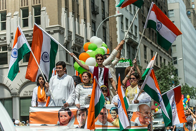Parade Float celebrating Independence won and Freedom preserved- thanks to Indian National Congress