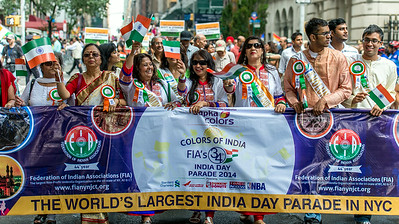 Kick-off of the The world's largest India Day Parade in NYC