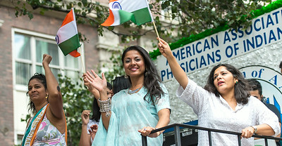 American Association of Physicians of Indian Origin - Parade Float