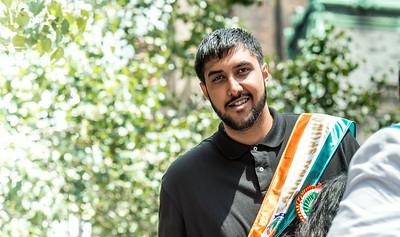 Sim Bhullar, first NBA player of Indian descent at the parade
