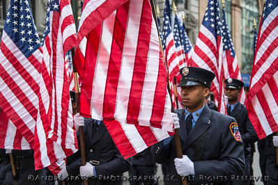 Flags carried by the Fire Dep. of the City of New York, FDNY