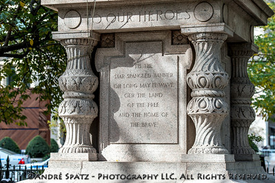 The Eternal Light Monument - Madison Square Park, New York