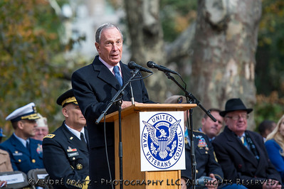 New York City Mayor Michael Bloomberg  during the Opening Ceremony