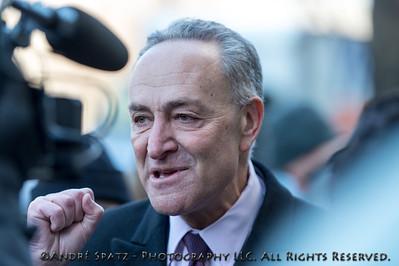 "New York Senator Charles ""Chuck"" Schumer"