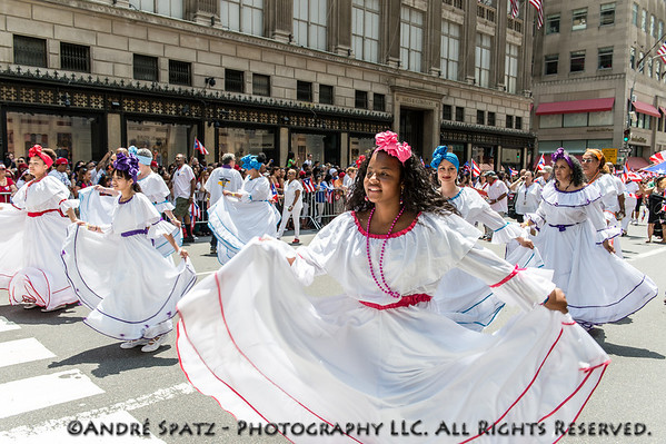 Scene from the Puerto Rican Day Parade in NYC.pp
