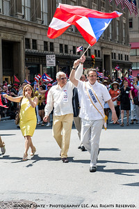 NY Governor Andrew Cuomo and Parade president Madelyn Lugo