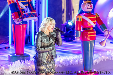 Lauren Alaina performs during the 81st Annual Rockefeller Center Christmas Tree Lighting Ceremony