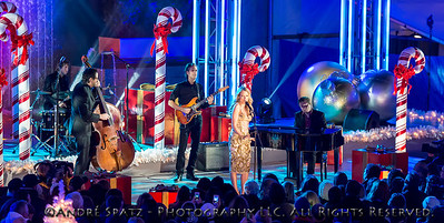 Jewel performs at the lighting ceremony for the Rockefeller Center Christmas Tree in New York City