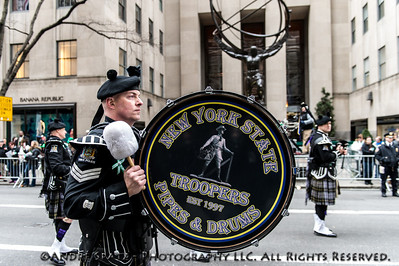 New York State Troopers Pipes & Drums.