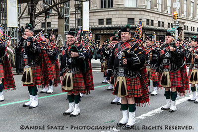 Westchester County Firefighters Emerald Society Pipe Band
