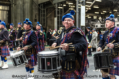 Suffolk County Police, NY. Pipes and Drums Emerald Society.