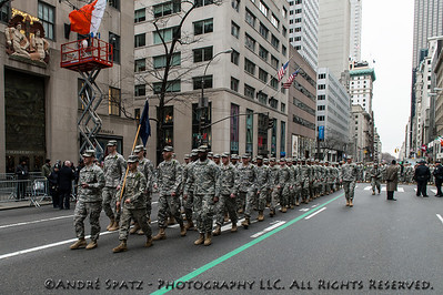 US Army's 69th Regiment.