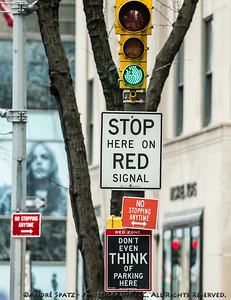 Welcome to clear street signs on 5th Ave in Manhattan