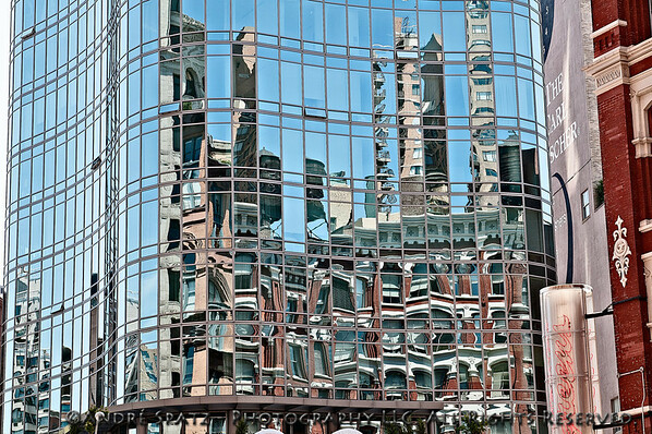 Reflections at Astor Place, NYC