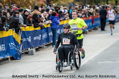 No: 43 Wheelchair division Brett Tantrum	03:29:28, New Zealand	New Zealand and Guide