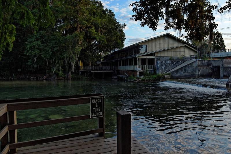 Tube Launch at Spring Creek - Marianna, Florida