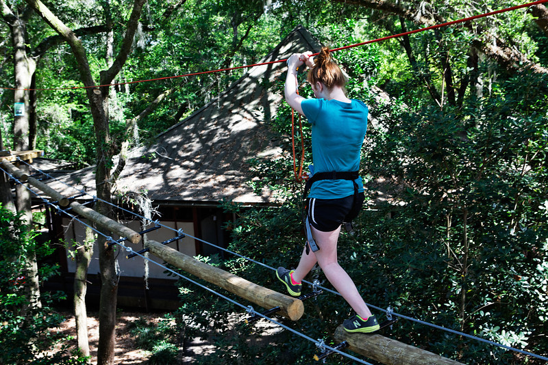 Tree to Tree Adventure at the Tallahassee Museum - Tallahassee, Florida