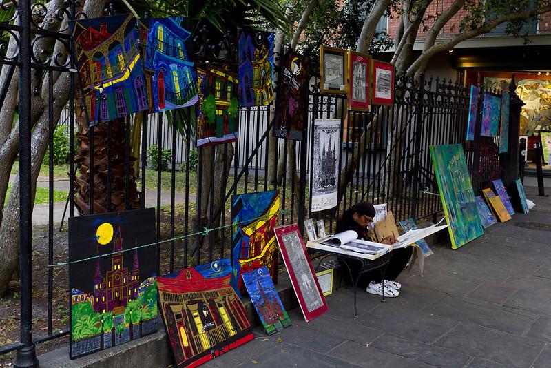 Street Artist - New Orleans, Louisiana