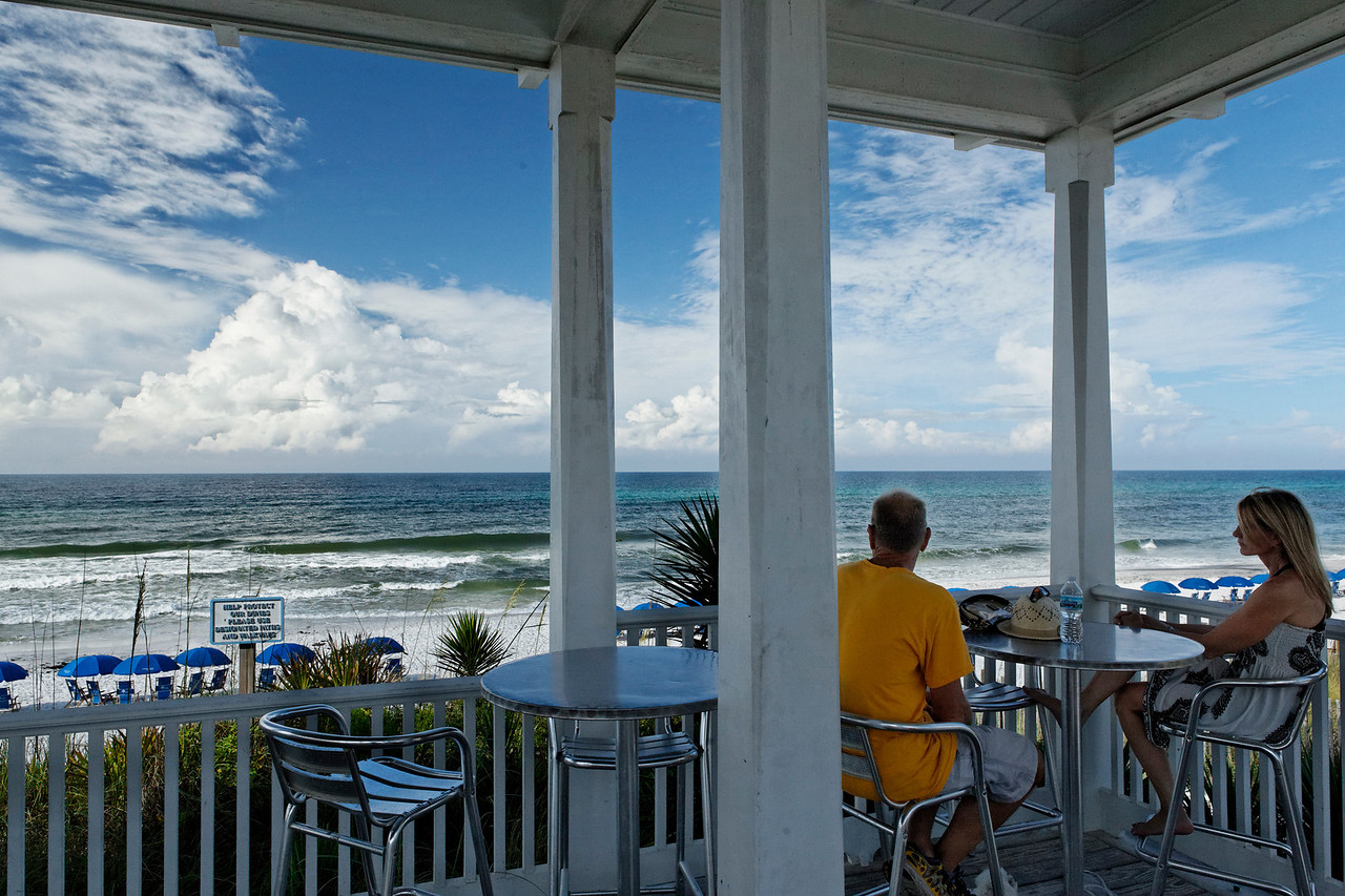 Couple Enjoying the View - Seaside, Florida