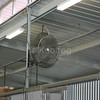 Misting Fan Inside Barn