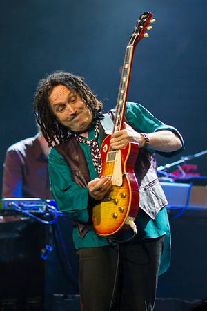 Mike Campbell (lead guitar) of Tom Petty & the Heartbreakers performing at St. Pete Times Forum, September 16, 2010