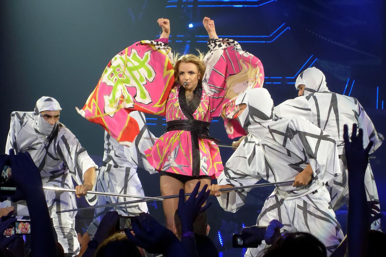 Britney Spears Femme Fatale Tour - Jacksonville, FL, July 24, 2011.