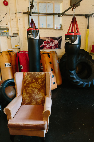 Arts Barge Presents... The Boxing Club ROUND 1
