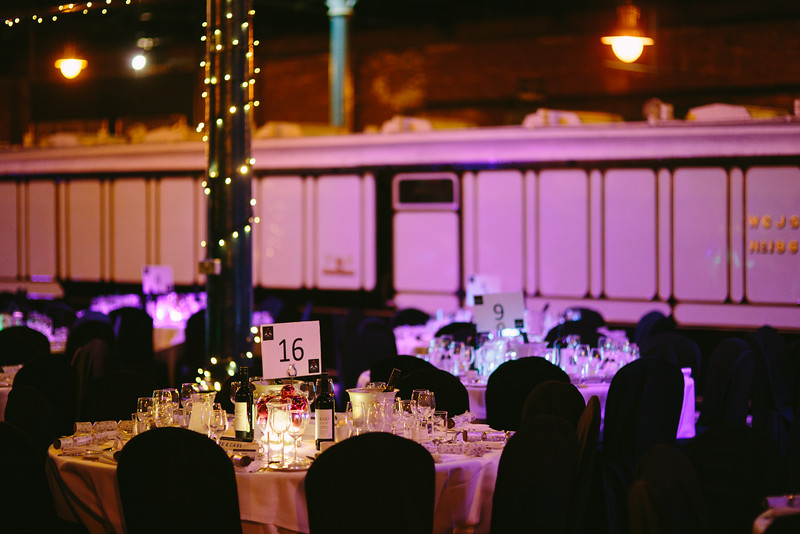 University of York Law Society's annual Careers Dinner hosted at the National Railway Museum.