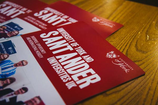 UoY Santander Celebration