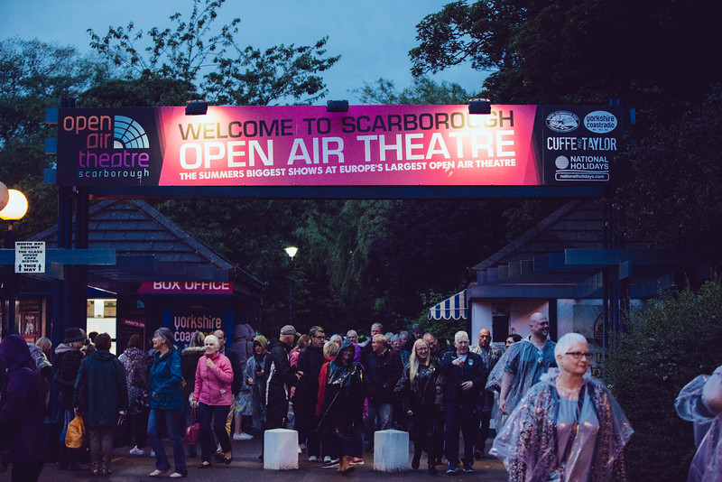Will Young at Scarborough Open Air Theatre.
