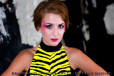 Runway Fashion photo shoot. Model: Kristina